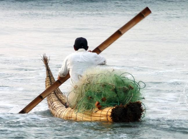traditioneel vissen