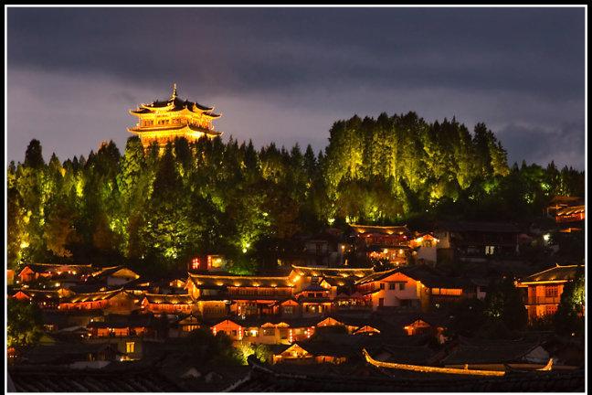 Lichtjes in Lijiang