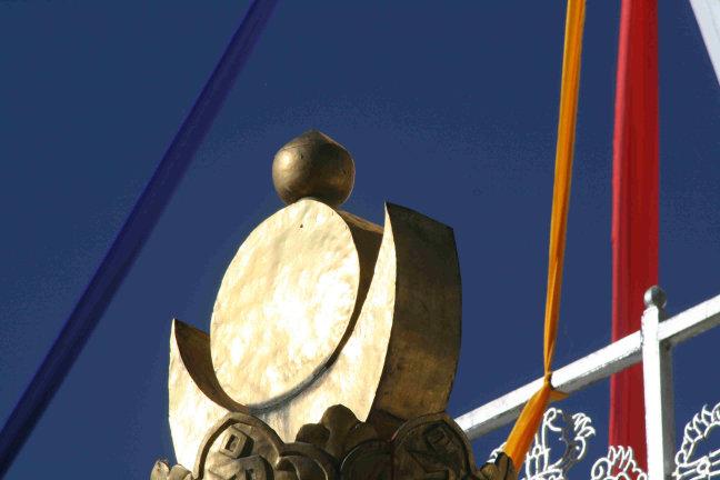 detail van memorial chorten