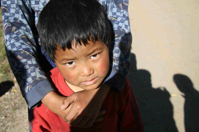 verlegen bhutaneesje