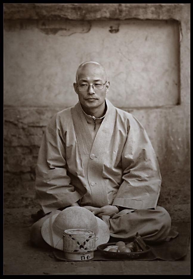 japanese zen monk