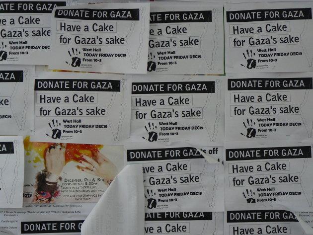 cake for gaza's sake