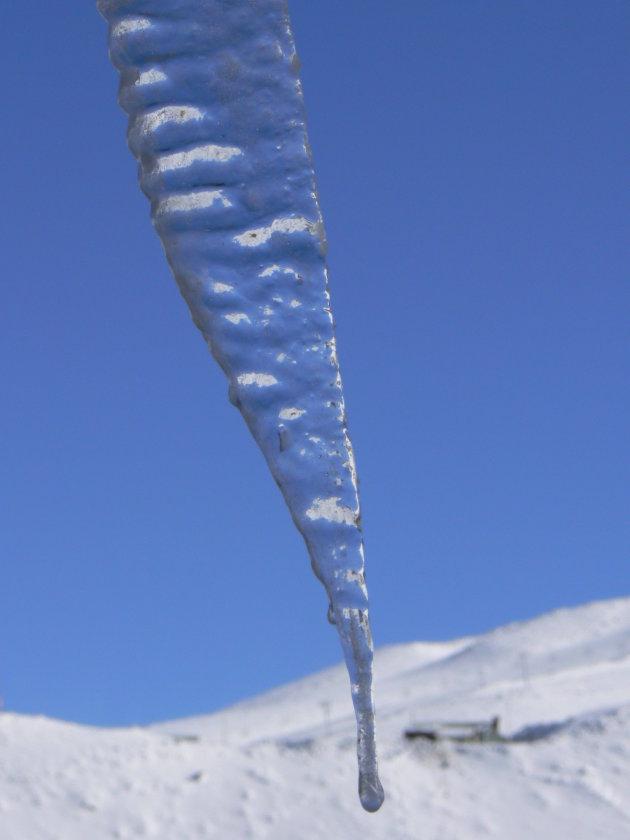 ijspegel in Fareya