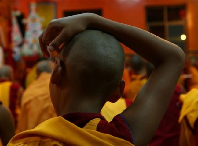 Jonge monnik in Kopanklooster