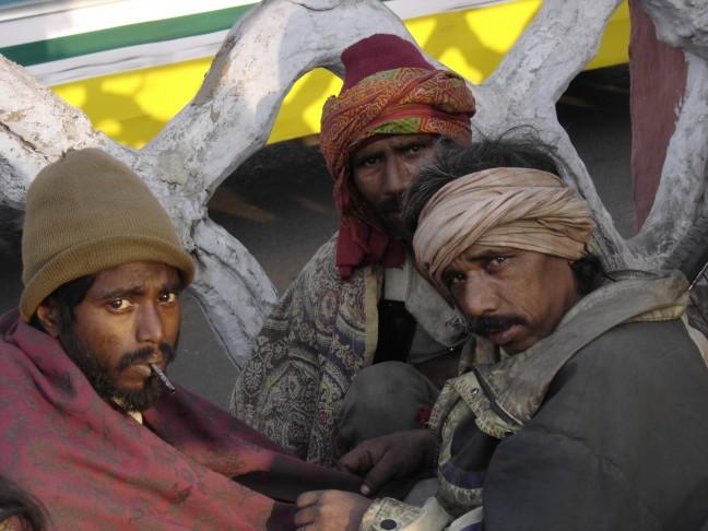 daklozen met een lugubere blik