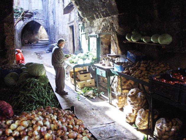 verse groenten in Tripoli