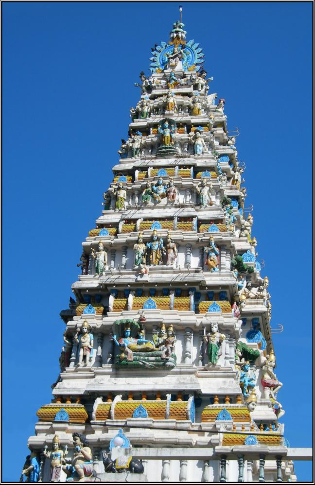 Hindoe tempel.