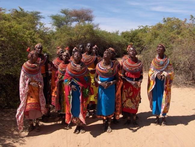 Samburu vrouwen