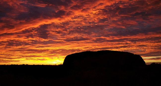 Ayers Rock - Lucky Shot