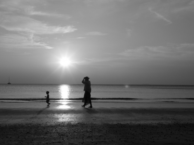 Zonsondergang op Koh Lanta