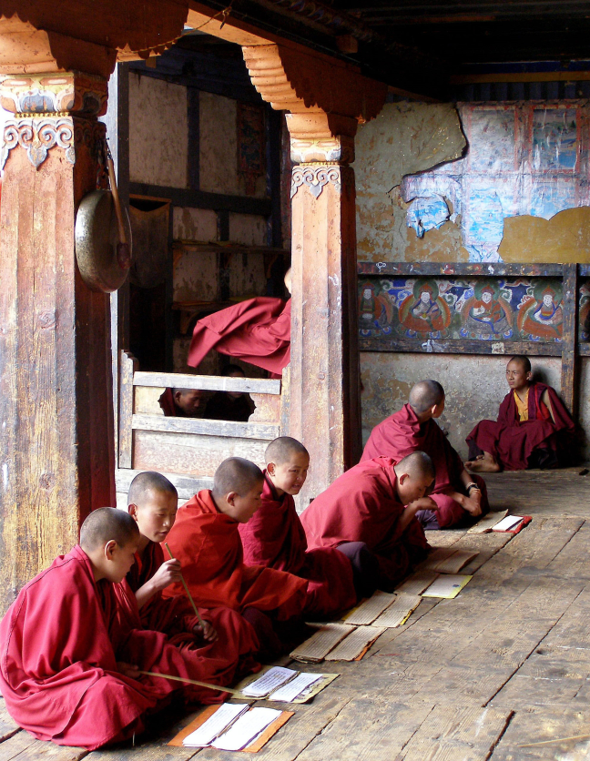 Kloosterschool Bhutan