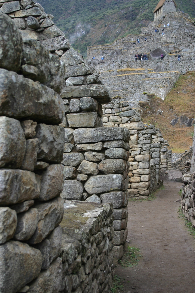 Rijtjeshuizen in Machu Picchu