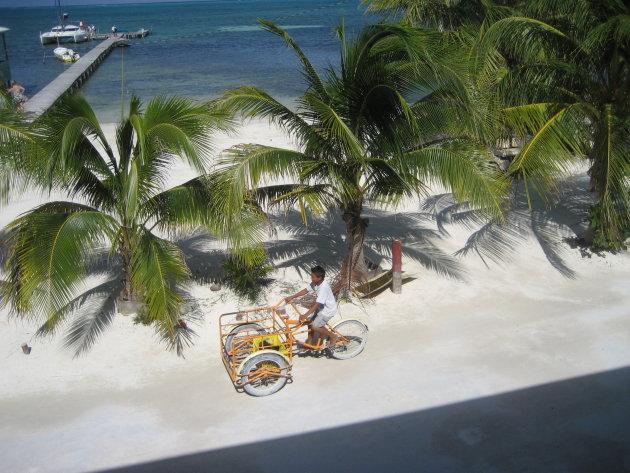 paradijsje op Belize