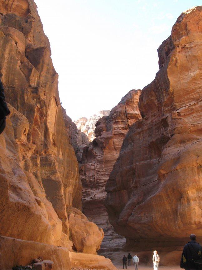 Op weg naar Petra