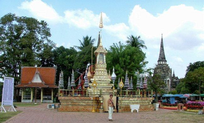 14.Plein in Ayutthaya