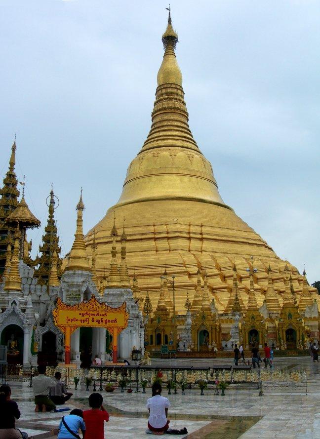 Shwedagon pagode.