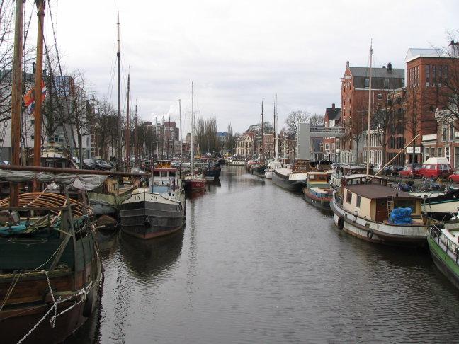 Noorderhaven in Groningen