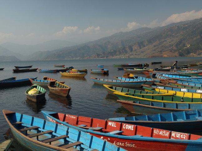 Phewa meer bij Pokhara