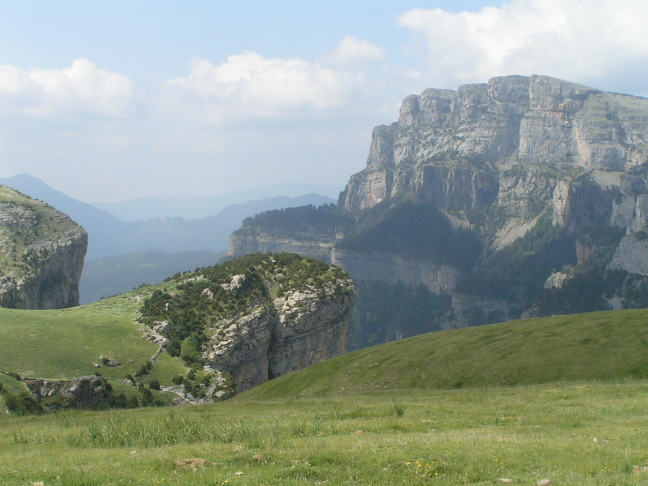 Provincie Huesca, omgeving Ainsa