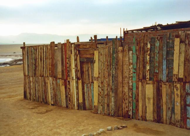 kleurig hout