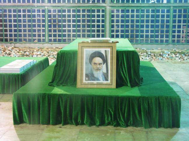 Het graf van Ayatollah Khomeini