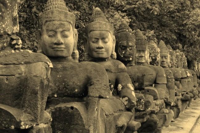 Toegang tot Angkor Wat