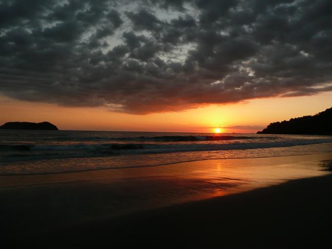 zonsondergang manuel antonio