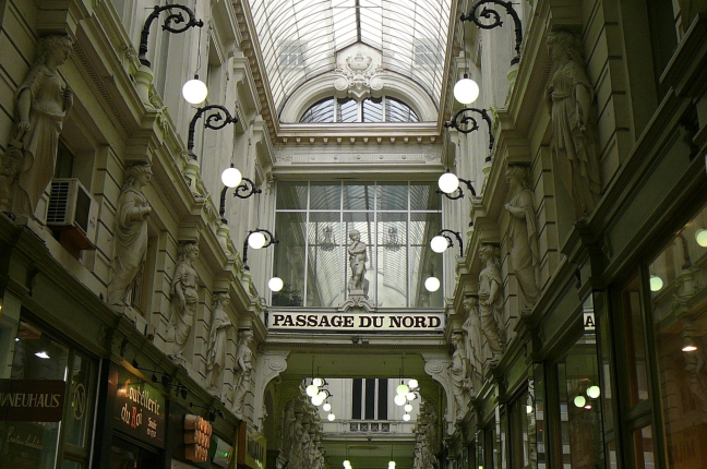 Winkelpromenade in Brussel