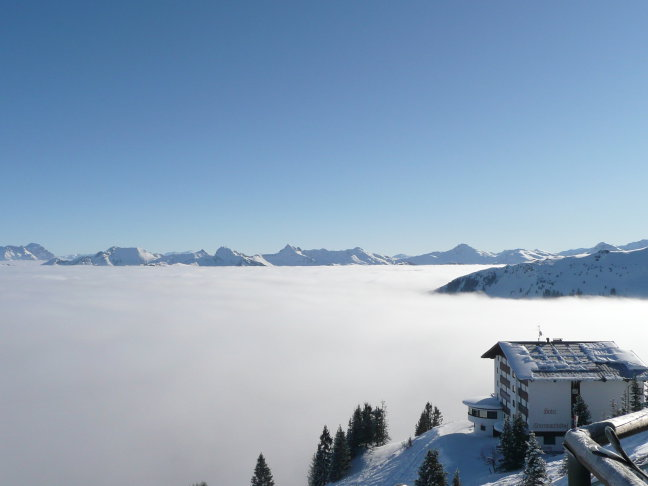 mooi plaatje in de kitzbuhler alpen