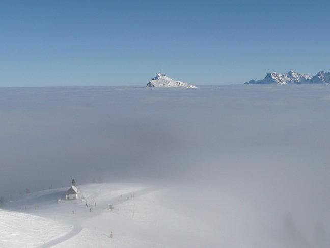 De bergen van kitzbuhler alpen