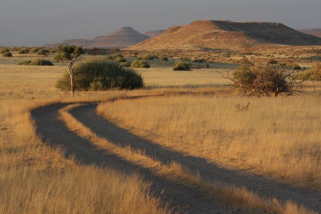Sunset Palmwag