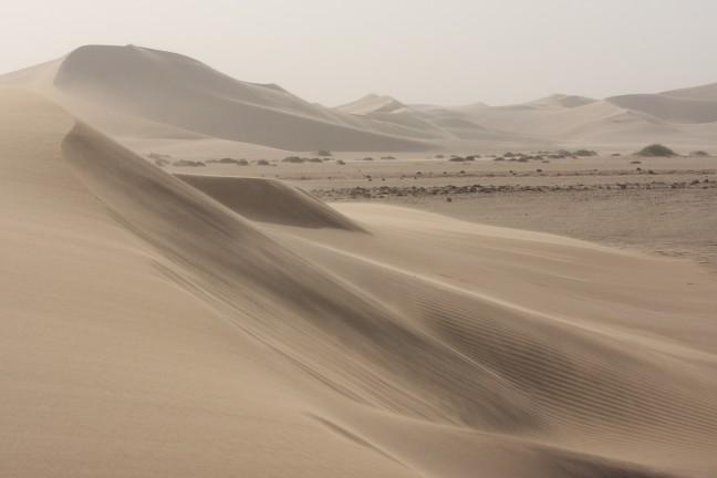 Mist en zand