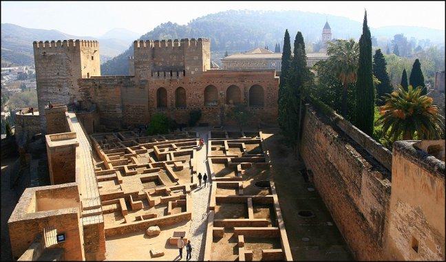 oudste deel Alhambra