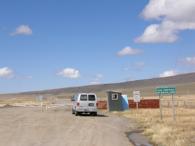 grensovergang Chi-Arg