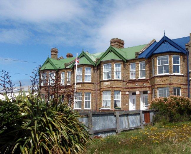 Falkland: typical Englisch