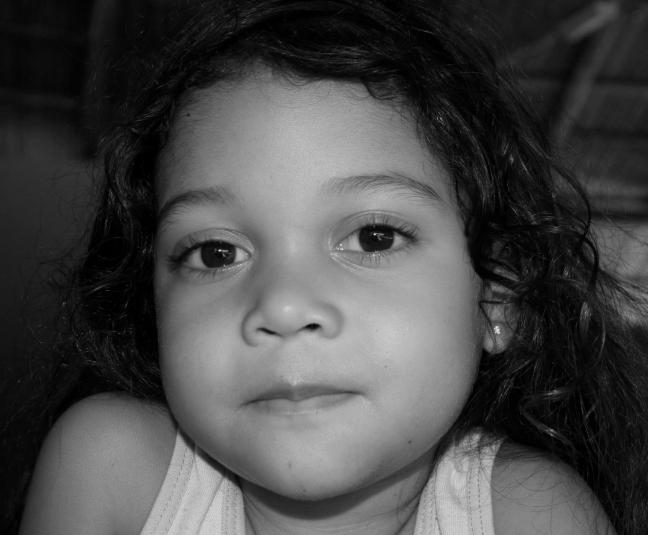 Meisje in Costa Rica