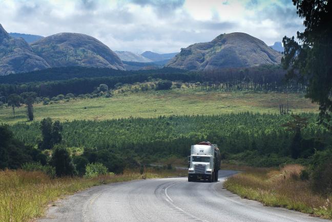 Op weg na Lilongwe