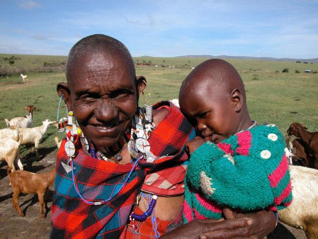 Oma Koko met kleinkind