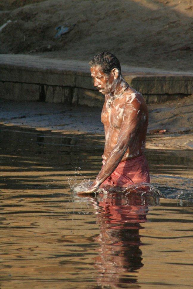 badend in de Ganges