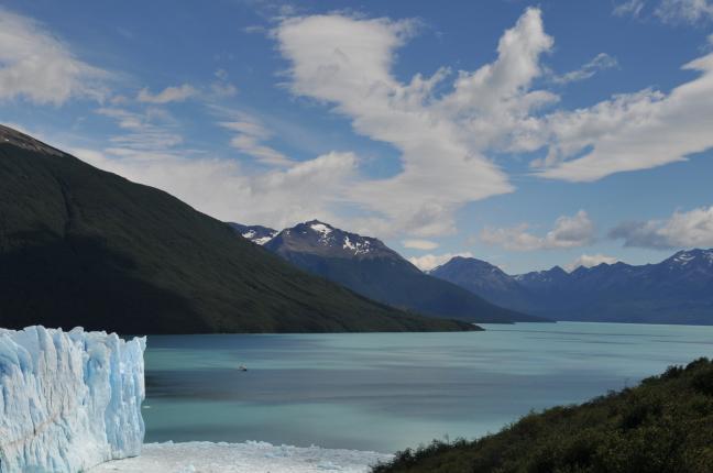 Perito Moreno Gletsjer in El Calafate