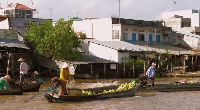 Drijvende Markt Cai Rang