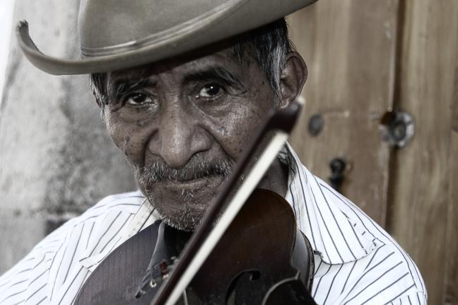 muzikant in Taxco