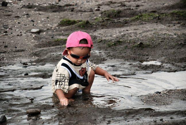 Little boy. Tanah Lot. (1145ps)