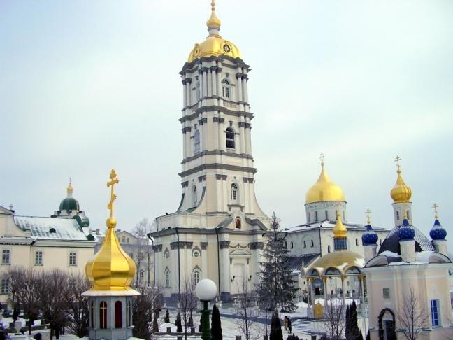Kerk in  Kremenez (Pochajev)