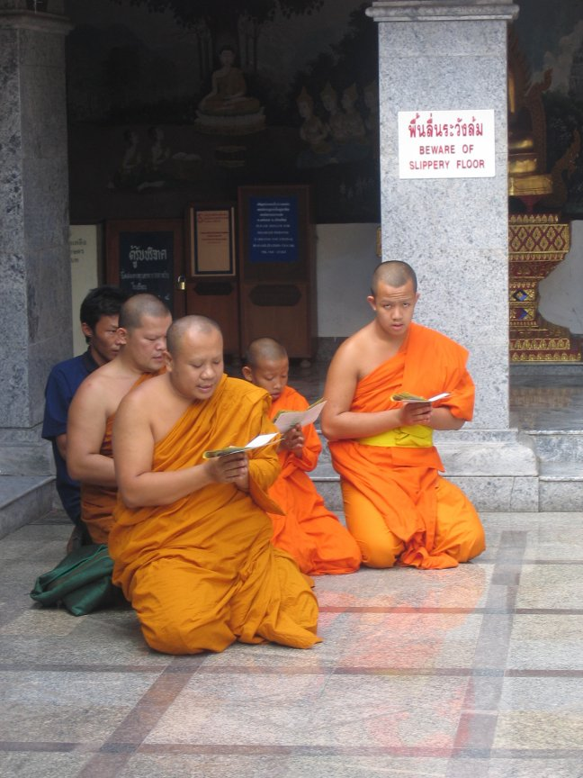 Wat Phrathat Doi Suthep tempel
