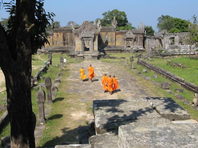 Betwiste Khmer tempel