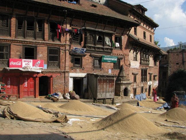bhaktapur, middeleeuw of nu ??