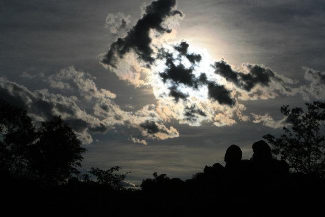 Evening in Zimbabwe
