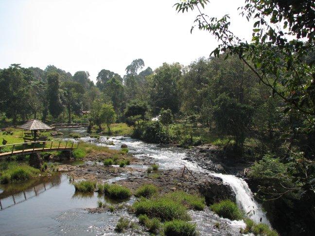 watervallen bij Pakse