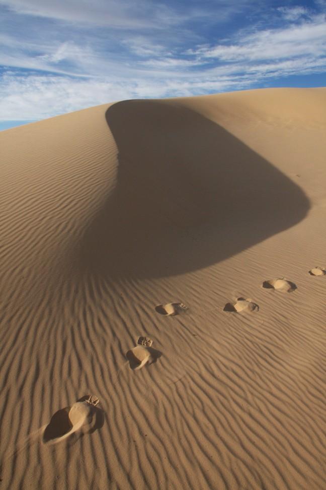 De schoonheid van zand en wind